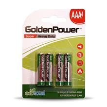 Golden Power GER03M Super Heavy Duty AAA Battery  Pack of 4